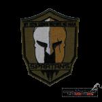 Aufnäher bestellen, Beispiel: Spartan Patch bestellen